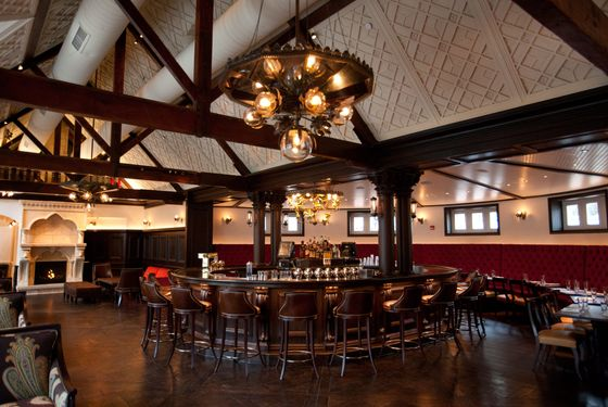 The Bar Room at Tavern on the Green.
