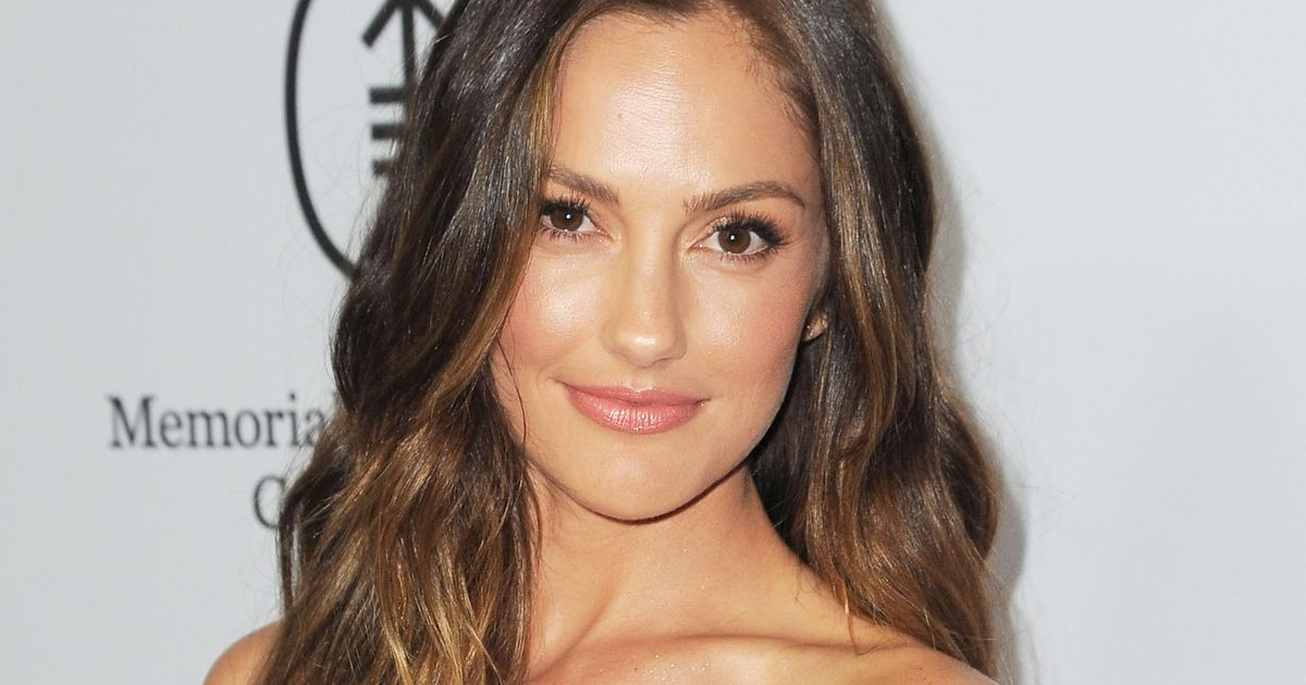 Actress Minka Kelly attends the Sean Parker and the Parker Foundation celebration for the Launch of The Parker Institute for Cancer Immunotherapy, in Westwood, California, on April 13, 2016.
