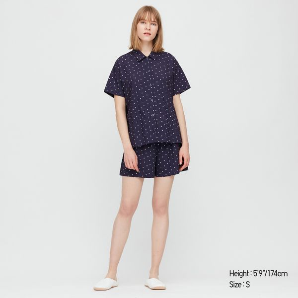 Uniqlo Women Soft Stretch Short Sleeved Pyjamas