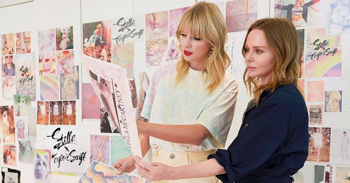 Taylor Swift's Newest Merch Is All Tie-Dye and Rainbows