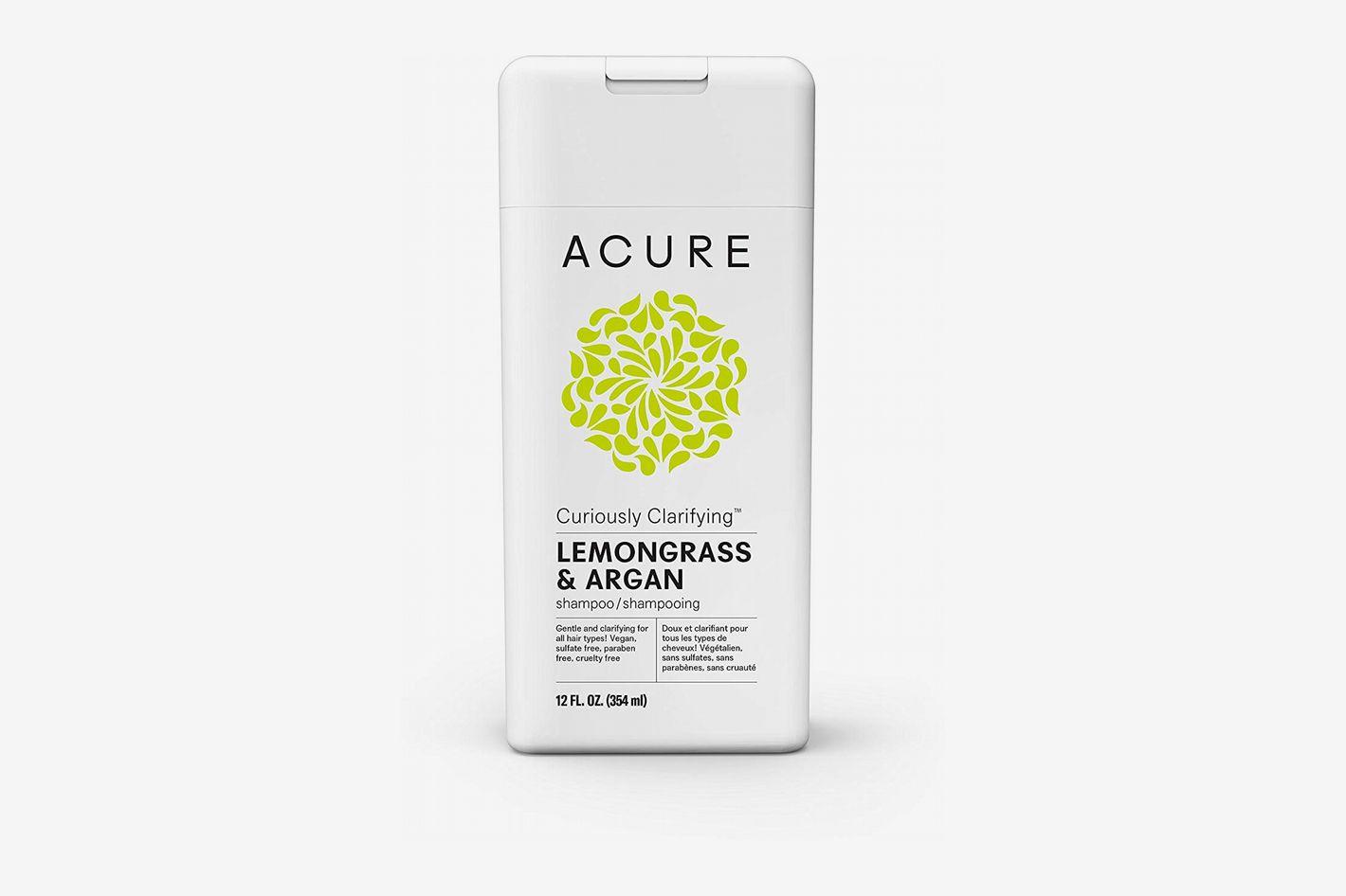Acure Curiously Clarifying Lemongrass Shampoo