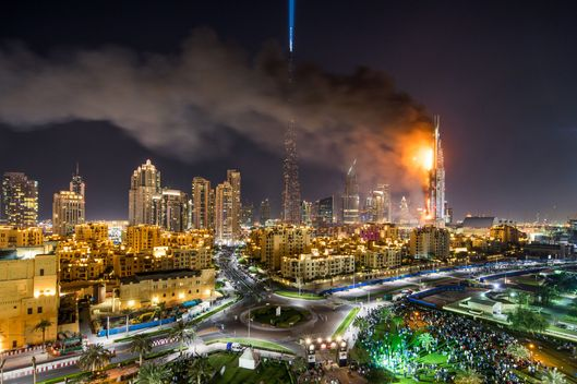 Could the dubai skyscraper fire happen in new york europlan for New hotels in dubai 2016