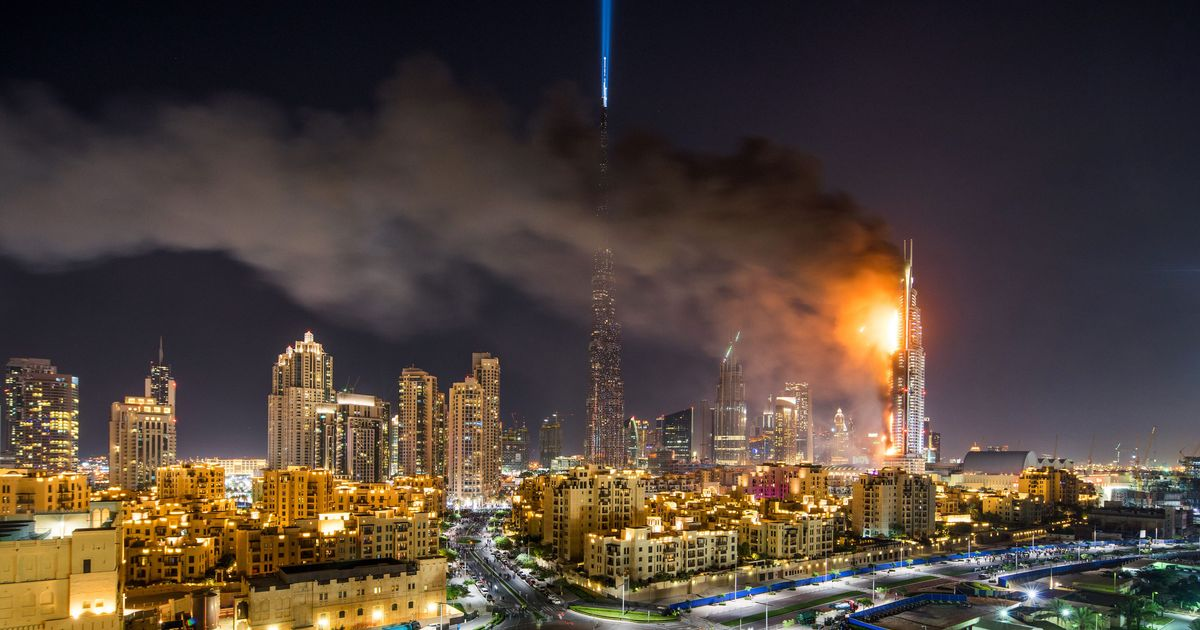 Could the dubai skyscraper fire happen in new york for List of hotels in dubai with contact details