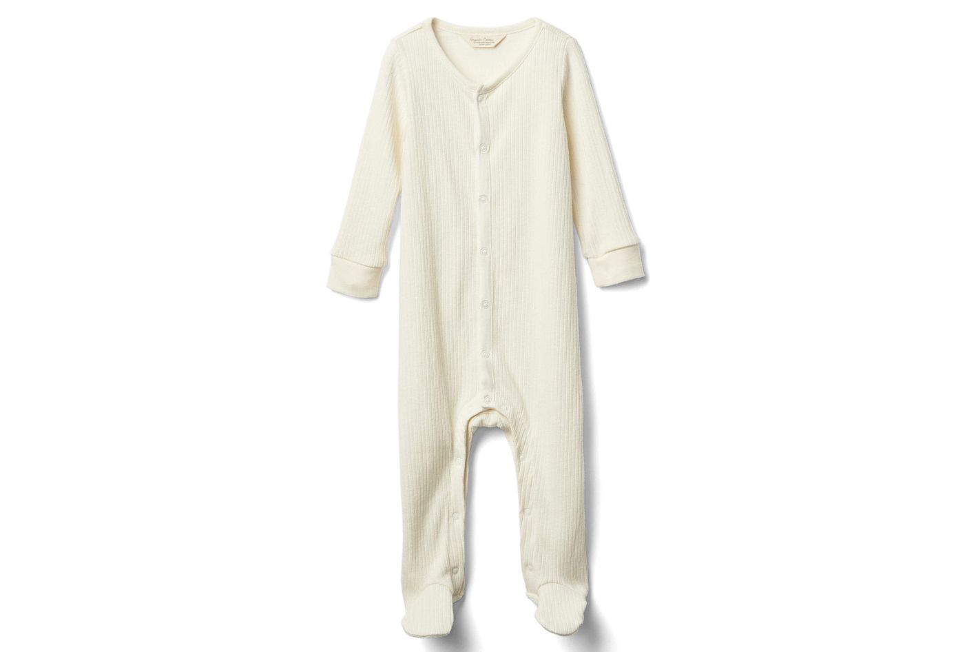 Gap Organic Rib Footed One-Piece