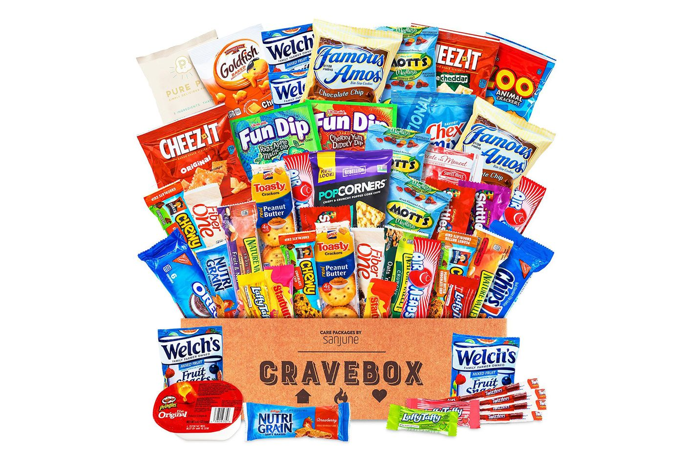 Cravebox Deluxe Care Package Snack Box