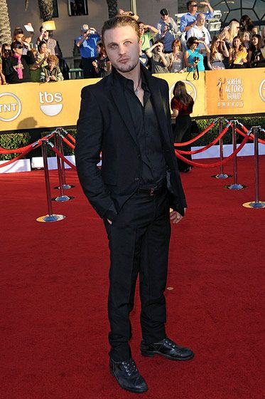 Michael Pitt== 18th Annual Screen Actors Guild Awards== Shrine Auditorium, Los Angeles, CA== January 29, 2012== ?Patrick McMullan== Photo - ANDREAS BRANCH/PatrickMcMullan.com==
