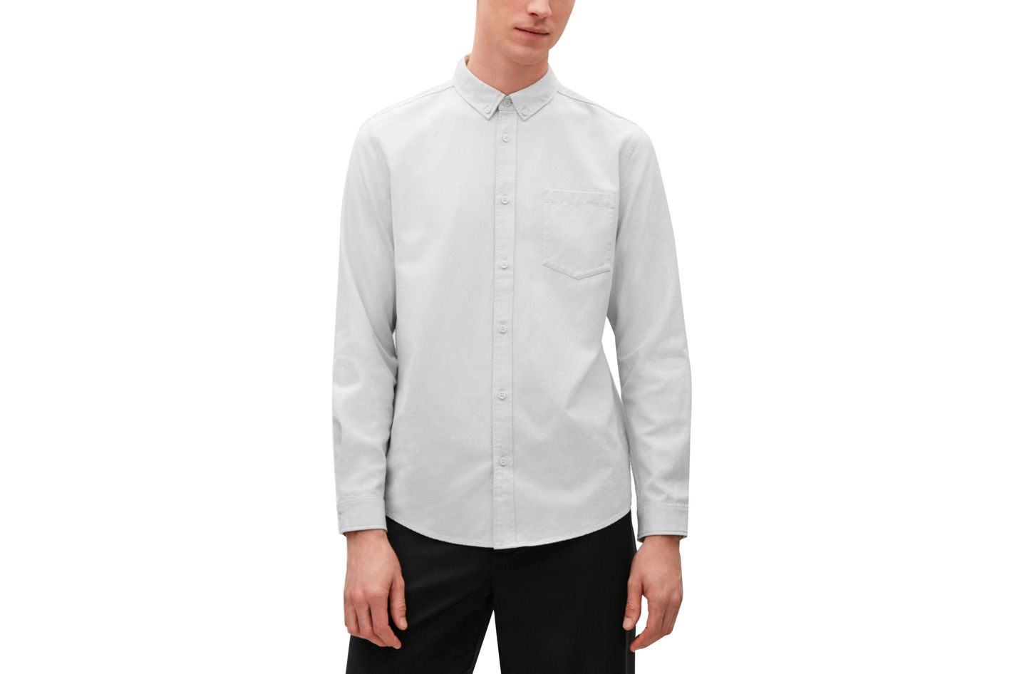 COS Button Collar Shirt