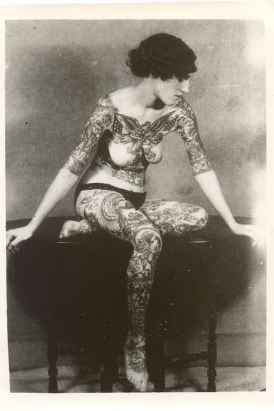 The year 2012 marked the first time in American history tattooed women outnumbered tattooed men. Although