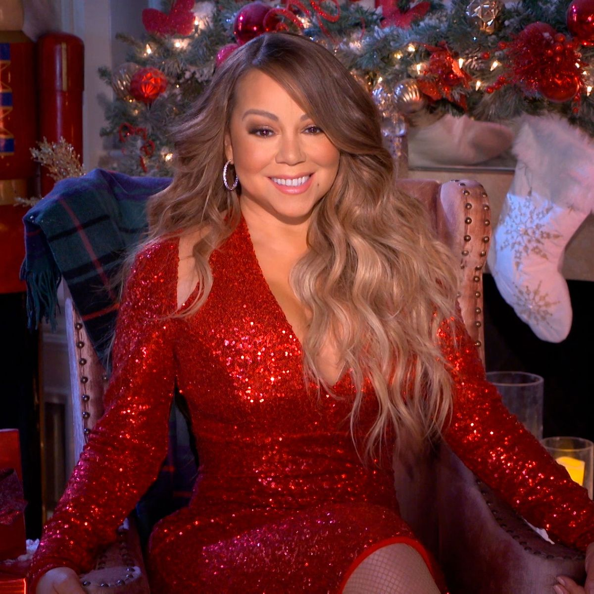 Mariah Carey Christmas Album 2021 Mariah Carey S All I Want For Christmas Sets Chart Records