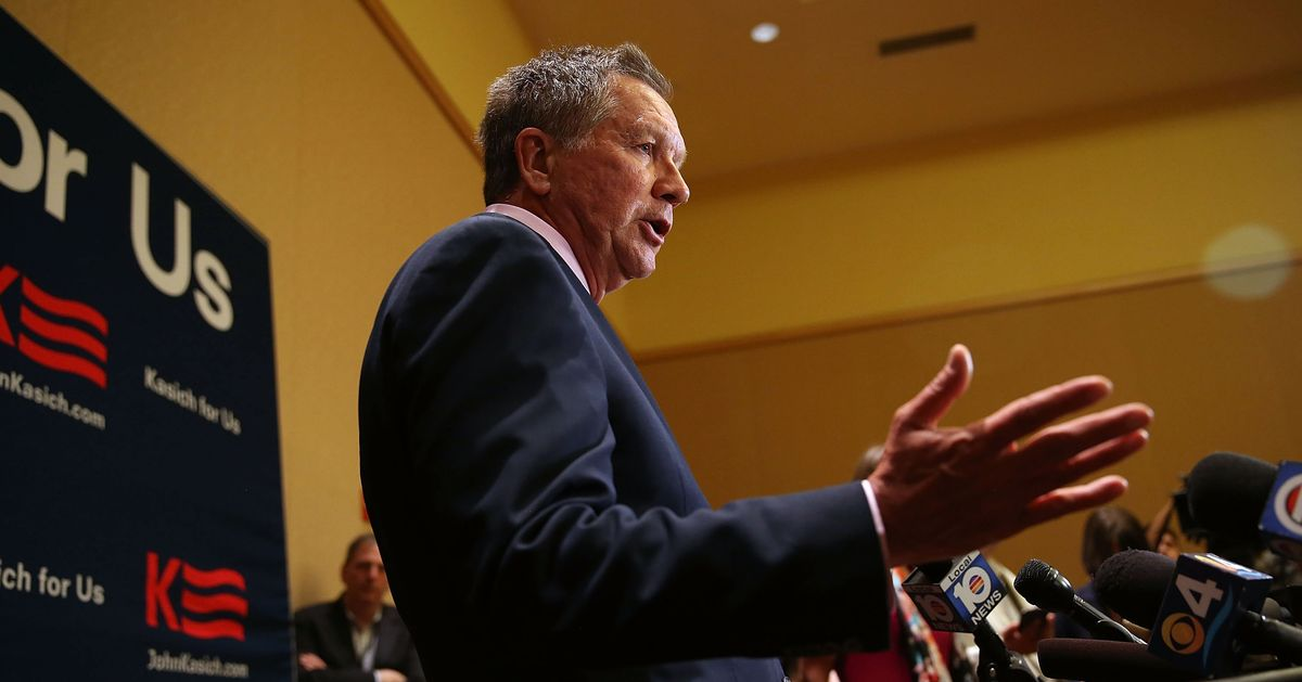A Kasich Primary Challenge to Trump Ain't Happening