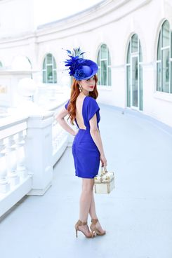 Catherine Jones at this year's Kentucky Derby.
