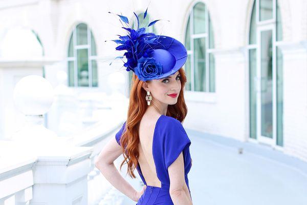 Derby Street Style: Peacock Plumage & Bow Ties