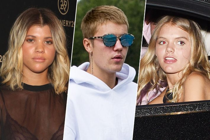 Who's justin bieber dating now