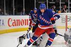 Brandon Dubinsky #17 of the New York Ranger