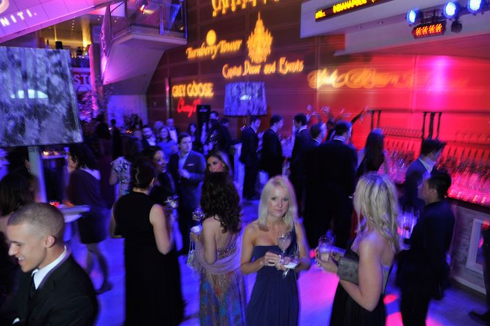 General atmosphere at the Capitol File's 7th Annual White House Correspondents' Association Dinner after party at The Newseum on April 28, 2012 in Washington, DC.