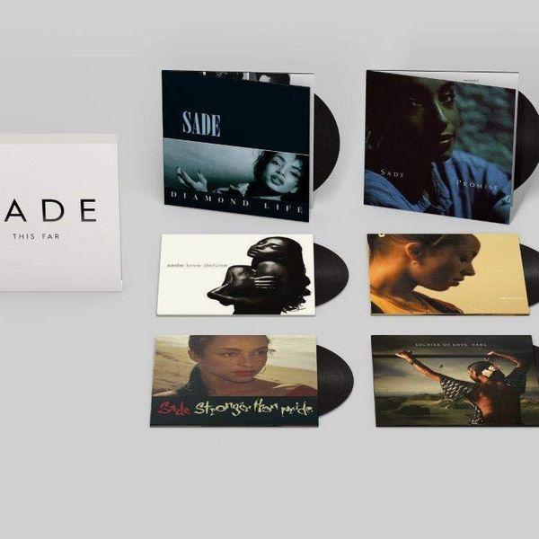 "Sade ""This Far"" 6 Vinyl Albums Box Set"