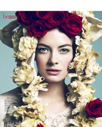 Julia Dunstall for <em>Vogue</em> Taiwan.