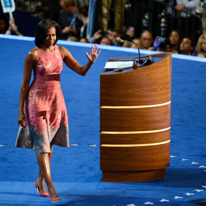 Michelle Obama's Tracy Reese DNC dress.