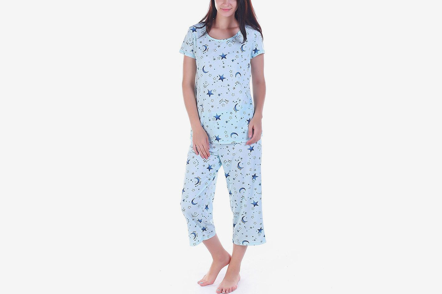 4894c3174a Best capri pajama set. Amoy madrola Women Cotton Sleepwear