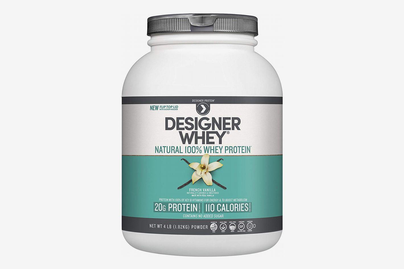 Designer Whey Premium Natural 100% Whey Protein, French Vanilla