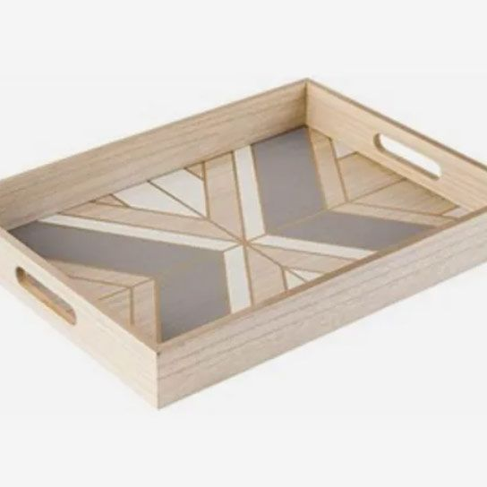 Robin Wilson Home Sustainable Wood Serving Tray