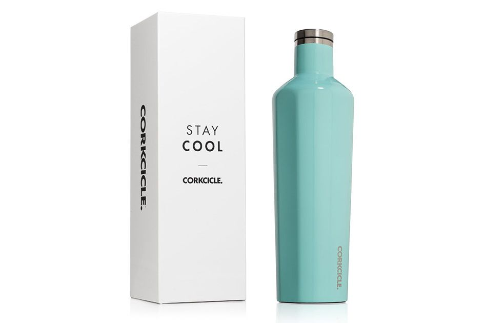 Corkcicle triple insulated water bottle and thermos