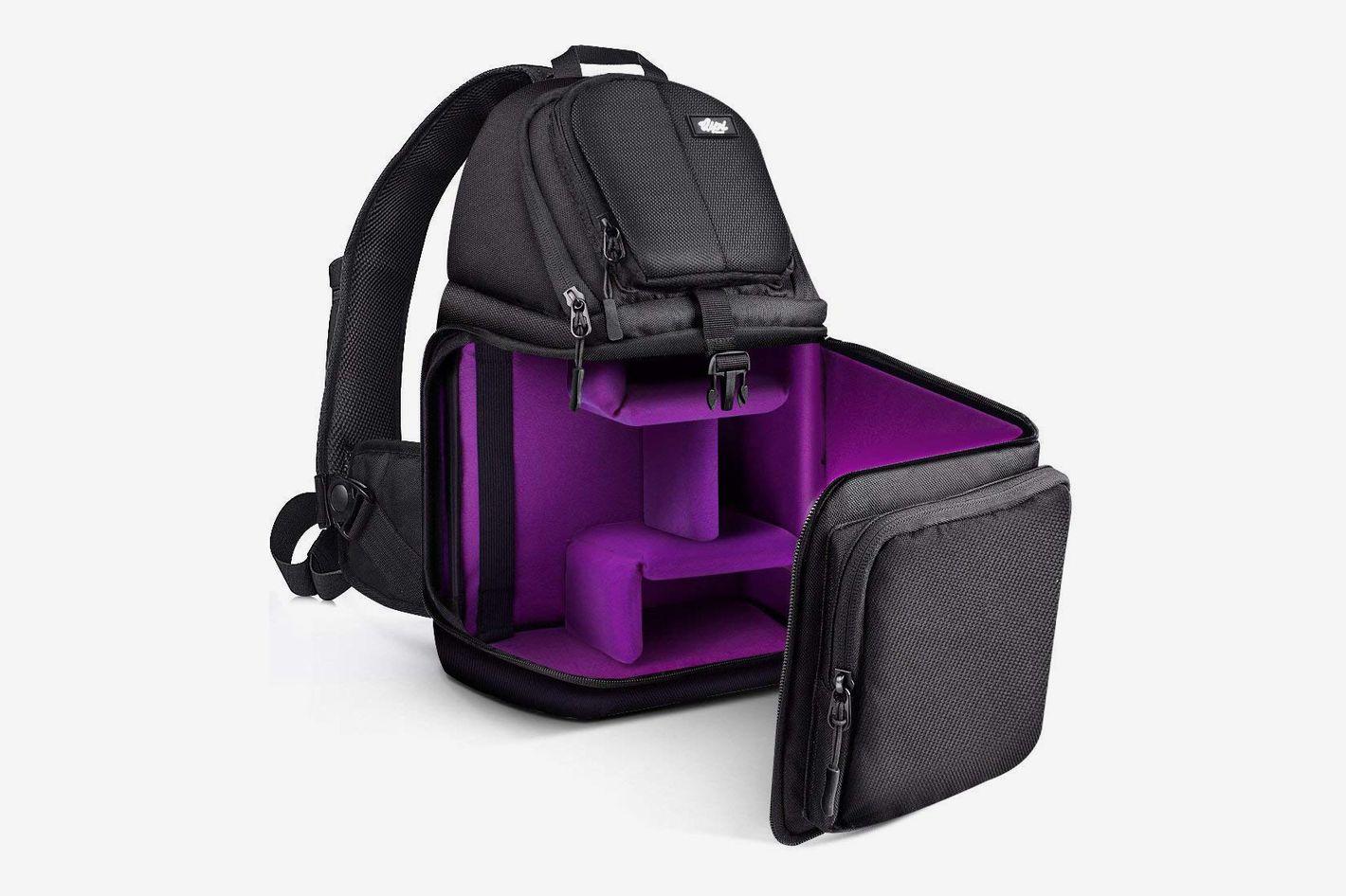 Qipi Camera Bag - Sling Bag Style Camera Case Backpack