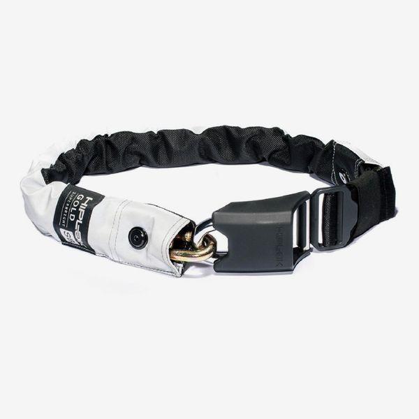 Hiplok Gold Maximum-Security Wearable Chain Lock