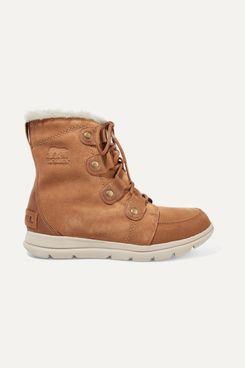 Sorel Explorer Joan Ankle Boots