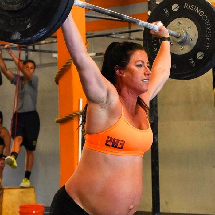 Fit Moms Chontel Duncan and Emily Breeze.