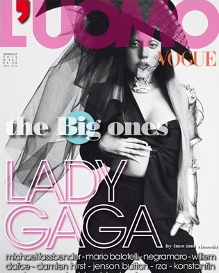 Lady Gaga; <em>Vogue Italia</em>