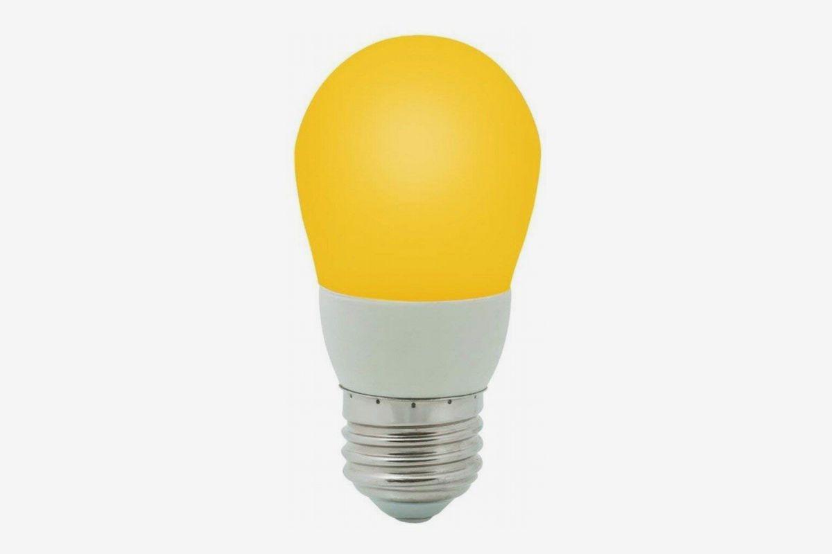 LED Single Contact AMBER Yellow 13 LED Light Bulb