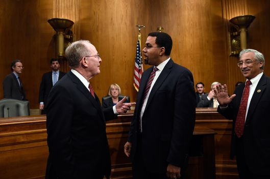 John King Jr., Lamar Alexander, Bobby Scott