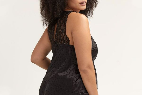 Ashley Graham Lounge Cami with Lace Details