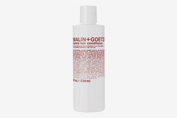 Malin and Goetz Cilantro Hair Conditioner.