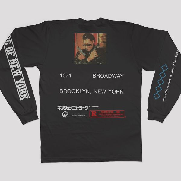 King of NY Long Sleeve Tee