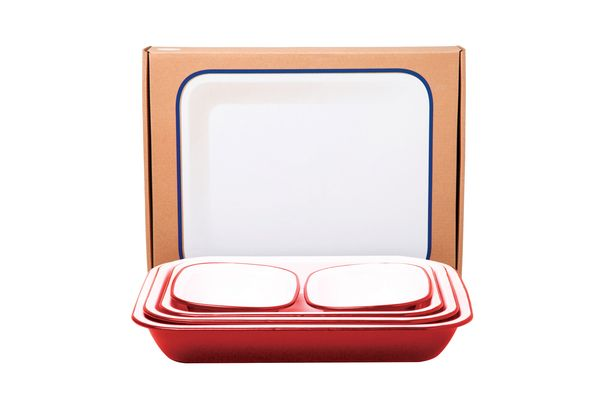Falcon set of five baking pans