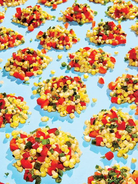 "<b>Recipe: </b><a href=""http://nymag.com/listings/recipe/corn-salad-red-peppers/"">Corn Salad With Red Peppers</a> by Einat Admony"