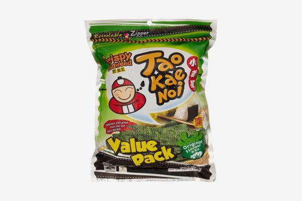 Taokaenoi, Crispy Seaweed Original Flavor, 65g