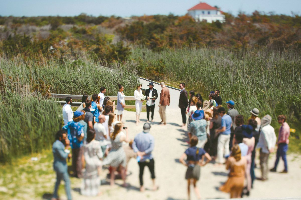 Nymag Real Weddings: - Real Wedding Album: A Last-Minute Beach Bash