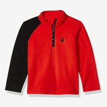 Spyder Kids Mini Speed Fleece Zip T-Neck