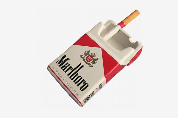 YOURNELO Cigarette Case Ceramic Ashtray