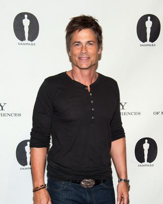 Rob Lowe attends Academy Of Motion Picture Arts And Sciences Hosts A