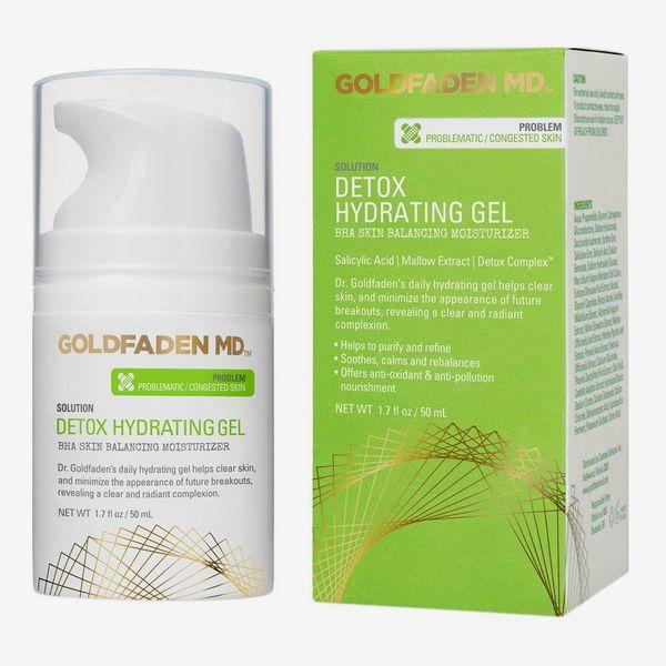 Goldfaden MD Detox Hydrating Gel, BHA Skin-Balancing Moisturizer