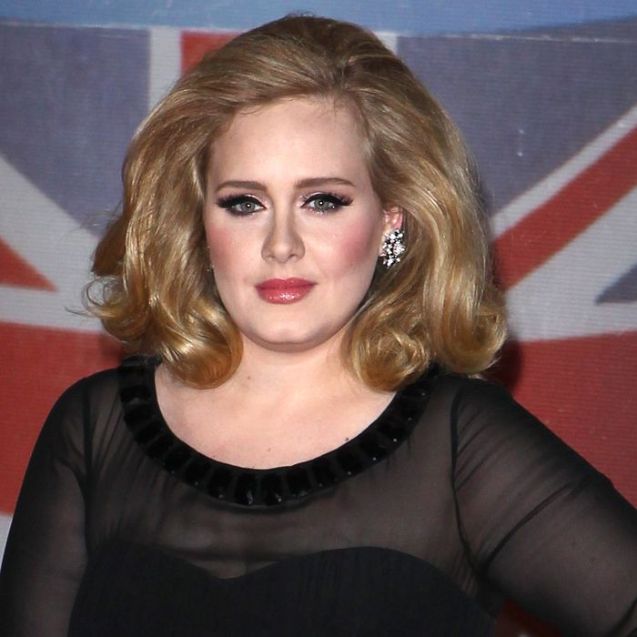 Adele: the new face of Burberry?