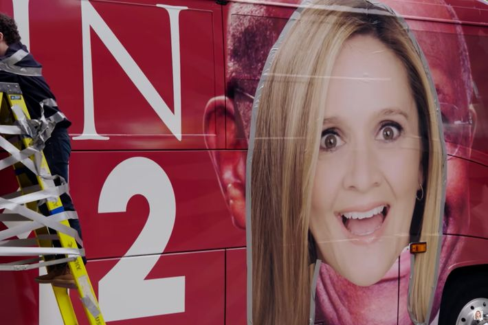Samantha Bee on <em>Full Frontal</em>.