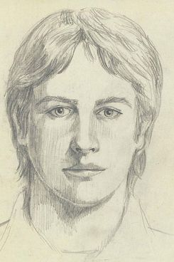 One of the three main suspect sketches used by the FBI.