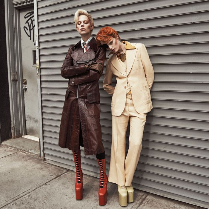 Models as David Bowie.