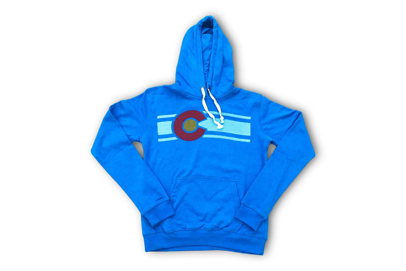 Heather Blue Colorado Hoodie