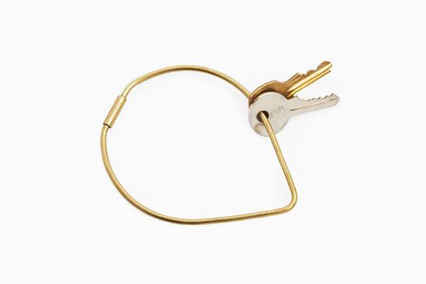 Areaware Contour Key Ring, Drop